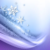 Abstract blue winter background Royalty Free Stock Photo