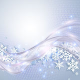 Abstract blue winter background Royalty Free Stock Photos