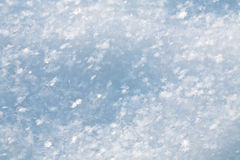 Abstract blue winter snow background Stock Photo