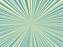 Abstract blue and yellow color sunburst,sun ray background.  Royalty Free Stock Photos