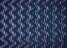 Abstract Blue Zigzag pattern. Stock Photo