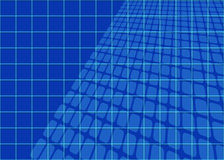 Abstract Blueprints Grid Royalty Free Stock Photo