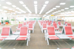 Abstract blur in airport. For background Royalty Free Stock Photo