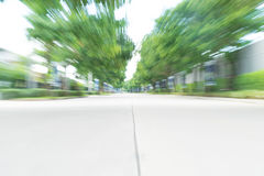 abstract blur asphalt road Royalty Free Stock Images