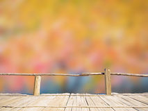 Abstract blur autumn leave background Stock Image