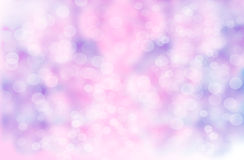 Abstract blur background : Beautiful purple Bokeh Stock Photo