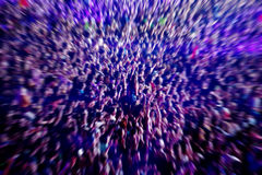 Abstract blur background of crowd of people Royalty Free Stock Photo