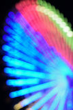 Abstract blur background of large Ferris wheel Stock Photography