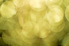 Abstract blur background. On night light, bokeh on night, blur of lighting and blur of night light, yellow bokeh and blur of lighting Stock Images