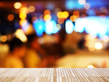 Abstract blur background of night party Royalty Free Stock Image