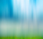 Abstract blur background of sky and grass Royalty Free Stock Photos