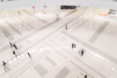 Abstract blur beautiful luxury shopping mall center and shop ret. Ail store interior for background Stock Images