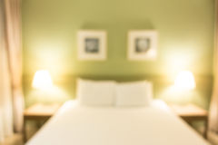 Abstract blur bedroom Stock Photos