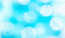 Abstract blur blue  bokeh background Stock Photo