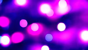 Abstract blur bokeh background. Defocused bokeh colorful background. Soft color blur on a black background. Beautiful colored boke. H lights. Christmas magic stock video