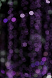 Abstract blur bokeh on black background, colorful light circle Royalty Free Stock Photo