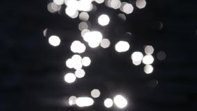Abstract blur bokeh stock video footage