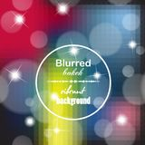 Abstract blur bokeh bright color background Royalty Free Stock Photos