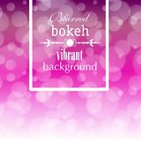Abstract blur bokeh bright color background Royalty Free Stock Image