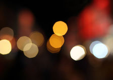Abstract blur bokeh light. Defocused Royalty Free Stock Image