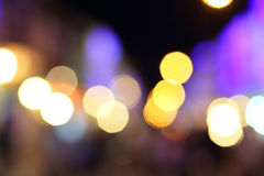 Abstract blur bokeh light. Defocused Royalty Free Stock Photography
