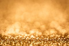 Abstract blur bokeh lighting from glitter texture stock photography
