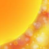 Abstract blur bokeh orange. Stock Photo