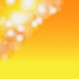 Abstract blur bokeh orange. Stock Image