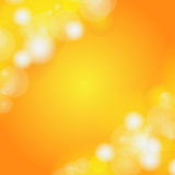 Abstract blur bokeh orange. Stock Photo