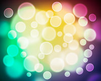 Abstract Blur Boken Background. Modern abstract bokeh light with colorful background stock photos
