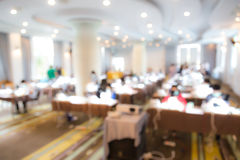 Abstract blur Business Conference Royalty Free Stock Photography