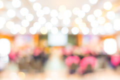 Abstract blur Business Conference and Presentation . Abstract blur Business Conference and Presentation Stock Photo