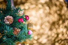Abstract blur Christmas bokeh background stock images