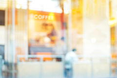 Abstract blur coffee shop for background Royalty Free Stock Image