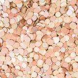 Abstract blur of coin. Stock Photography