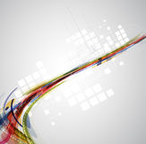 Abstract blur computer technology business connection Royalty Free Stock Photo