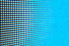 Abstract blur de-focussed blue led screen Royalty Free Stock Images