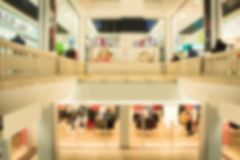 Abstract blur and defocused beautiful luxury shopping mall of deparment store for background. walking people. Abstract blur and defocused beautiful luxury royalty free stock image