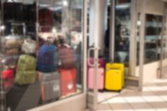 Abstract blur and defocused beautiful luxury shopping mall of deparment store for background. walking people. Abstract blur and defocused beautiful luxury stock photography