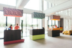 Abstract blur and defocused hotel looby and lounge. Abstract blur and defocused luxury hotel looby and lounge interior for background Stock Photography