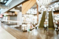 Abstract blur and defocused in luxury shopping mall and retail s. Tore for background - vintage effect filter stock images