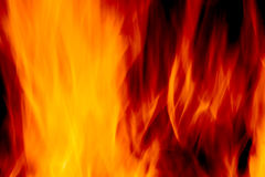 Abstract blur of a fire Royalty Free Stock Photography