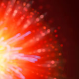 Abstract blur firework background Stock Photos