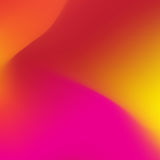 Abstract blur gradient background with red, purple, yellow and orange colors for design concepts. Vector illustration. Stock Photos