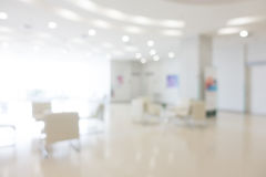 Abstract blur hospital royalty free stock photo