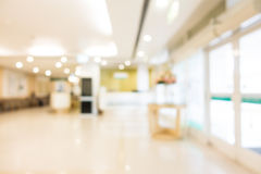 Abstract blur hospital and clinic interior. For background Stock Image