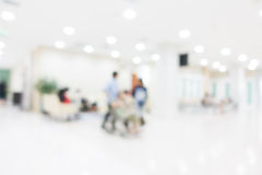 Abstract blur hospital and clinic Royalty Free Stock Image