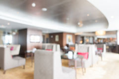 Abstract blur hotel lobby lounge Stock Photo