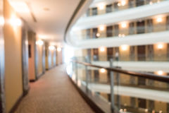 Abstract blur hotel lobby lounge Stock Images