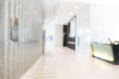 Abstract blur hotel lobby lounge Royalty Free Stock Photography